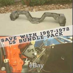C10 1967 68 69 70 71 72 LS Bundle Pack CROSSMEMBER and LS Motor Mount Swap Kit