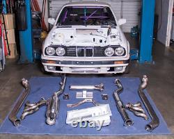 CXRacing LS1 Engine T56 Trans Mount Aluminum Oil Pan Kit for BMW E30 LS Swap