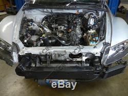 CXRacing LS1 Swap Kit Torsion Bar Subframe Bracer Sway Bar Header for Mazda RX-8
