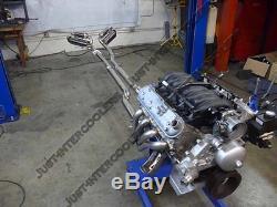 CXRacing LS1 T56 Transmission Swap Kit Header Downpipe Oil Pan For Nissan 350Z