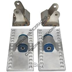 CXRacing LS Engine Mount Kit For 79-93 Ford Mustang LS1 / LSx Swap