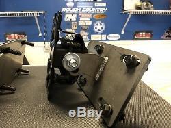 DNR AUTO CHEVY/GM UNIVERSAL LS SWAP MOTOR MOUNT KIT LSX G Body 5.3 6.0 LS1