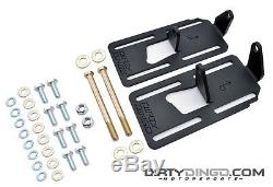 Dirty Dingo Adjustable Conversion Engine Mounts LS1 Swap 88-98 4WD GM Truck RAW