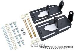 Dirty Dingo Adjustable Engine Swap Mounts LS1 Swap G-Body/82-92 F Body RAW STEEL