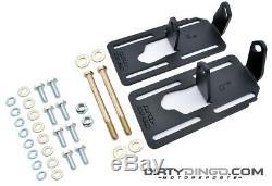 Dirty Dingo Adjustable Engine Swap Mounts LS Swap 91-96 Caprice/Impala RAW STEEL