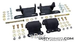 Dirty Dingo DD-LS-S2 2WD S10 LS1 Adjustable Conversion Mounts LS Engines 82-04
