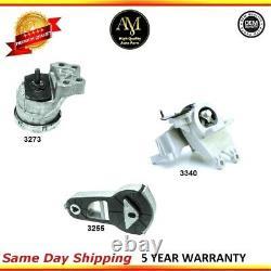 Engine & Auto. Trans. Mount Set 3PCS for Ford Explorer 11-16 V6 3.5L