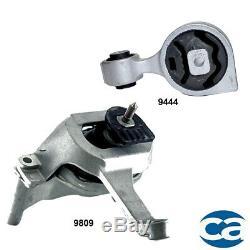 Engine Front Motor & Rear Torque Strut Mount for Nissan Altima 07-18 L4 2.5L GAS