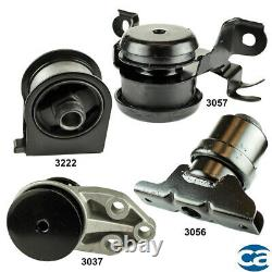 Engine Motor & AutoTrans. Mount 4Pcs Set for Ford Escape 04-01 V6 3.0L
