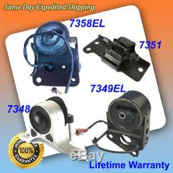 Engine Motor Auto Trans Mount 4 Set 05-06 For Nissan Altima 3.5L with Sensors M008