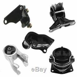 Engine Motor & Automatic Transmission Mount Kit Set of 5 for 99-04 Honda Odyssey