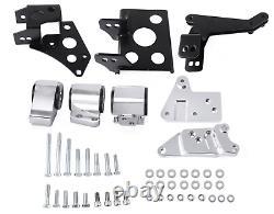 Engine Motor Mount Bracket For K-Swap EK Chassis 96-00 Civic K20 K24 K-Series US
