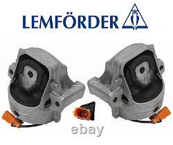 Engine Motor Mount Hydraulic Set Lt & Rt 2pc OEM Audi A4 A5 Quattro Q5 allroad