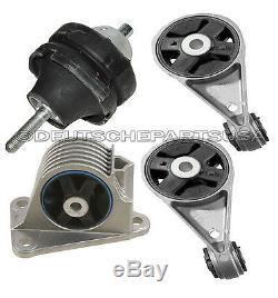 Engine Motor Mount Mounts KIT L & R, Front & Rear for Mini Cooper S 2003-2004