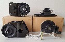Engine Motor Mount Replacement SET For 2004-2009 Nissan Quest Van 3.5L V6 4 PCS