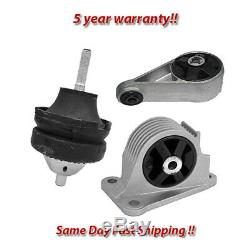 Engine Motor & Trans Mount 3PCS Hydraulic 02-07 for Mini Cooper 1.6L for Auto