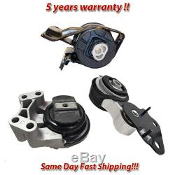 Engine Motor & Trans Mount 3PCS for 07-14 Ford Edge /07-15 Lincoln MKX 3.5L 3.7L