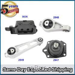 Engine Motor & Trans. Mount 4PCS FOR 01-09 Chrysler PT Cruiser 2.4L Auto M424