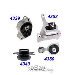 Engine Motor & Trans Mount 4PCS for 07-12 Nissan Altima 2.5L Auto CVT Trans. M988