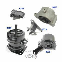Engine Motor & Trans Mount Full Set 5PCS For 2003-2005 Honda Pilot 3.5L M042