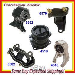 Engine Motor & Trans Mount Kit 5PCS 1999-2004 Honda Odyssey 3.5L Hydraulic M037