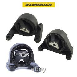 Engine Motor & Trans Mount Set 3PCS 1999-2004 for Jeep Grand Cherokee 4.7L AWD