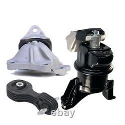 Engine Motor & Trans Mount Set 3PCS. 2012-2013 for Honda Civic 1.8L for Auto