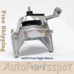 Engine Motor & Trans Mount Set 4 For 07-12 Nissan Altima 2.5L AT CVT Trans G238