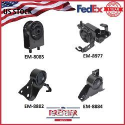 Engine Motor & Trans. Mount Set for 2002-2003 Mazda Protege5 2.0L Manual Trans