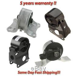 Engine Motor & Transmission Mount 4PCS for 2002-2006 Nissan Altima 2.5L for Auto