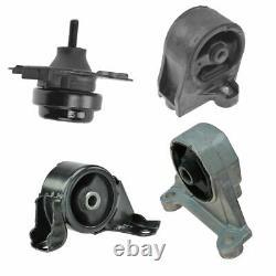 Engine Motor Transmission Mount Front Rear Kit Set of 4 for Civic Manual MT 1.7L