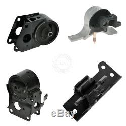 Engine Motor & Transmission Mounts Kit Set of 4 for Nissan Altima Maxima Quest