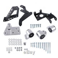 Engine Mount Bracket for K-Swap Honda Civic 92-95 EG K20 K24 K-Serie DC2 EG6
