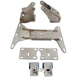 Engine + R154 Transmission Mounts Swap Kit For BMW E46 2JZ-GTE 2JZGTE 2JZ Motor