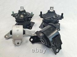 Engine & Trans Mounts Complete Set 4Pcs for Acura MDX 3.7L AWD Auto Trans