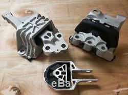 Engine & Transmission Mount Complete Set for Dodge Dart 13-16 2.0L 2.4L