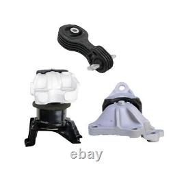 Engine & Transmission Mount Set 3PCS. 2012-2013 for Honda Civic 1.8L for Auto