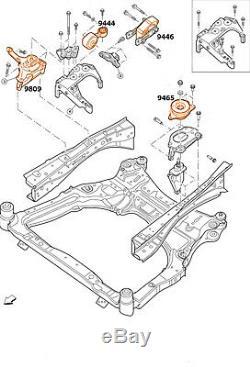 Engine Transmission Mounts Set 4pcs For 07/12 Nissan Altima 2.5 L