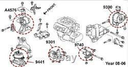 Engine & Transmission Mounts Set 5 PCS For Honda Ridgeline 3,5L Hydraulic Part
