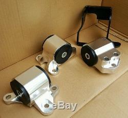 For 96-00 Honda CIVIC Ek Ej 3-bolt Aluminumengine Mount Kit B Series B16 B18 B20