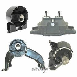 Fits 2009-2010 Dodge Journey SE 2.4L FWD Engine Motor & Transmission Mount 4PCS