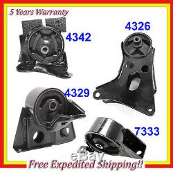 For 02-06 Nissan Sentra 2.5L Engine Motor & Trans. Mount Set 4 Automatic M1120