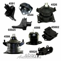 For 04-06 Acura TL 3.2L For Engine Motor & Trans. Mount Full Kit Set 8PCS Auto
