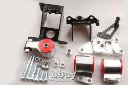 For 06-11 Honda Civic Si K20 K24 FA FG Billet Aluminum Engine Motor Mount Swap
