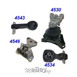 For 06-2010 Honda Civic 1.8L Engine Motor & Trans Mount 4PCS for Auto Trans. M107