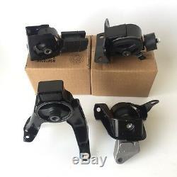 For 2003-2008 Toyota Corolla Matrix Pontiac Vibe 1.8L Engine Mount SET Auto 4pcs