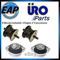 For BMW 540I 740I 740IL E39 E38 Engine & Auto Transmission Motor Mount Kit NEW