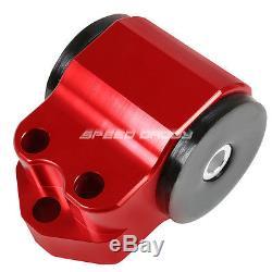 For CIVIC Eh Eg/db DC D15/d16 B16/b18 Red Aluminum Swap Engine Motor Mount Kit