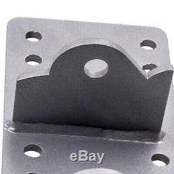 For Chevy LS LSX Engine swap adapter plate engine mounts Left right bracket