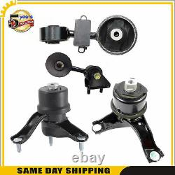 For Engine Motor & Trans Mount 2007-2009 Toyota Camry 2.4L 4269 4274 4207 4211